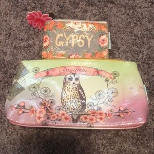 Papaya Make up Bag and Coin Purse
